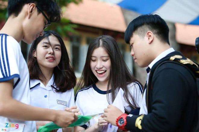 Thí sinh thi THPT Quốc gia 2018