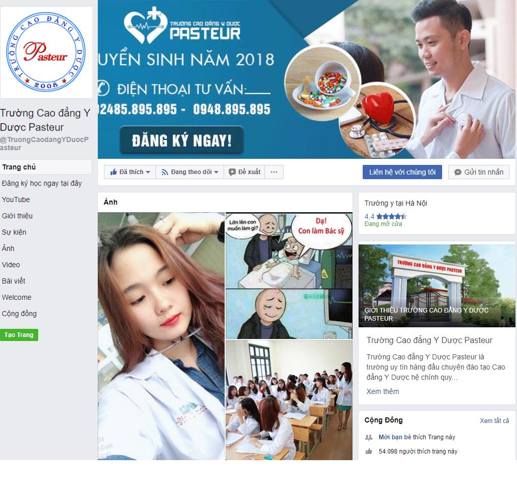Sử dụng Facebook Fanpage hiệu quả trong Marketing Dược