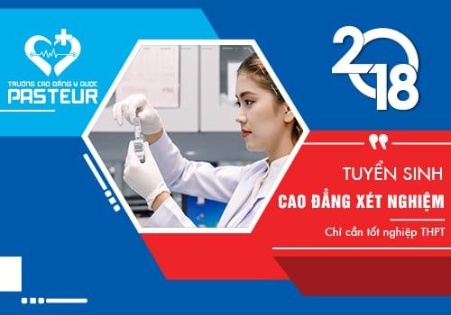 Thông tin tuyển sinh Cao đẳng Xét nghiệm TP.HCM 2018