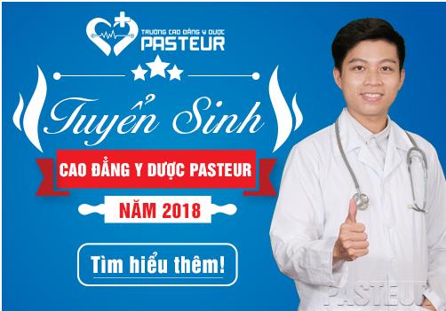 Tuyển sinh Trường Cao đẳng Y Dược Pasteur Sài Gòn