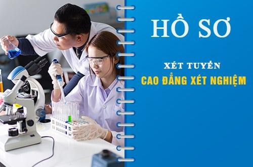 Hồ sơ xét tuyển Cao đẳng Xét nghiệm Pasteur Hà Nội năm 2018