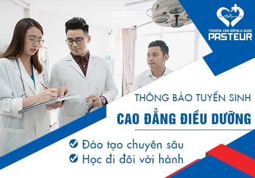 Chất lượng đào tạo Cao đẳng Điều dưỡng Pasteur TP.HCM