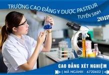 Điều kiện tuyển sinh Cao đẳng Xét nghiệm Hà Nội năm 2018