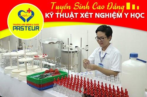 Tuyển sinh Cao đẳng Kỹ thuật Xét nghiệm Hà Nội năm 2018