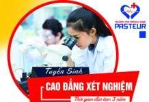 Tuyển sinh Cao đẳng Xét nghiệm Pasteur Hà Nội năm 2018