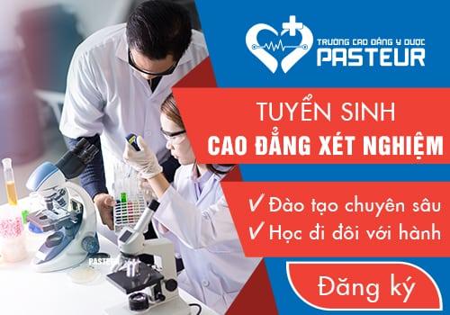 Thông tin tuyển sinh Cao đẳng Xét nghiệm Hà Nội năm 2018