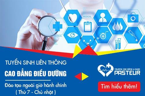 Tuyển sinh Liên thông Cao đẳng ĐIều dưỡng TPHCM từ Trung cấp