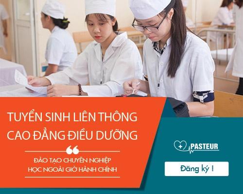 Thông tin tuyển sinh Liên thông Cao đẳng Điều dưỡng TP.HCM năm 2018