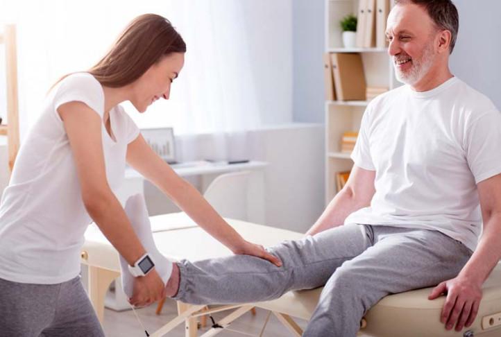 Nhà Vật lý trị liệu vừa là Bác sĩ vừa là người bạn của bệnh nhân