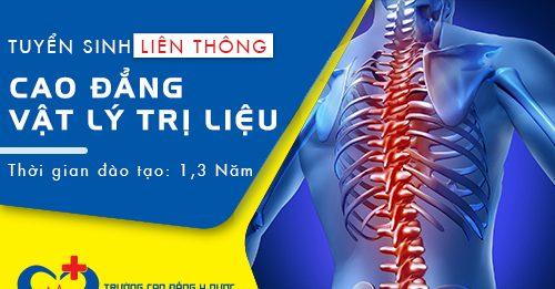 Thời gian tuyển sinh Liên thông Cao đẳng Vật lý trị liệu và Phục hồi chức năng TP.HCM
