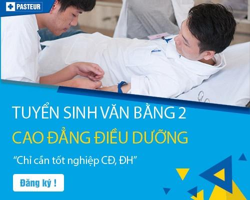 Thông tin tuyển sinh Văn bằng 2 Cao đẳng Điều dưỡng TP.HCM