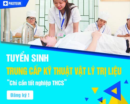 học Trung cấp Vật lý trị liệu TP.HCM tại Cao đẳng Y Dược Pasteur TP.HCM