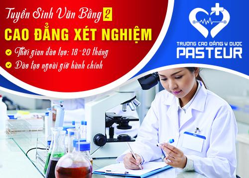 Hồ sơ đăng kí Văn bằng 2 Cao đẳng Xét nghiệm TP.HCM