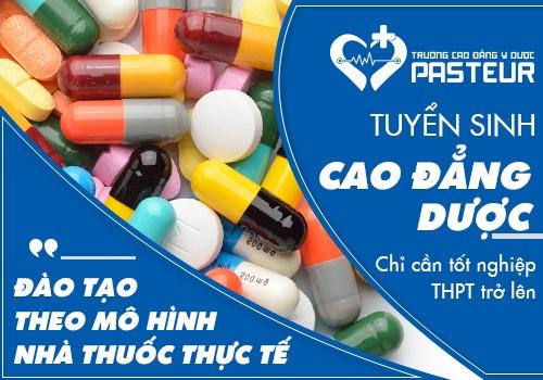 Vì sao nên học Cao đẳng Dược TP.HCM?