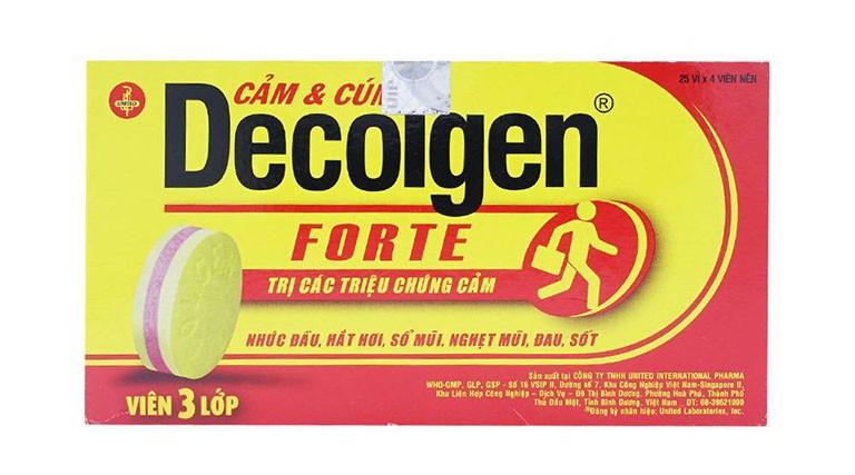 Thuốc Decolgen: Công dụng, liều dùng, lưu ý khi sử dụng