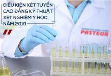 Điều kiện tuyển sinh và chất lượng đào tạo Cao đẳng Xét nghiệm Pasteur TP.HCM