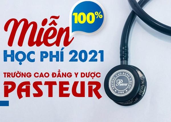 <center><em>Trường Cao đẳng Y Dược Pasteur miễn 100% học phí năm 2021</em></center>