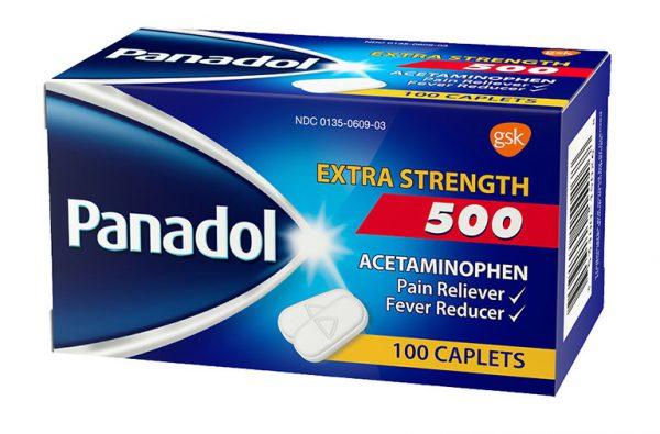 Panadol thường ít khi gây tác dụng không mong muốn