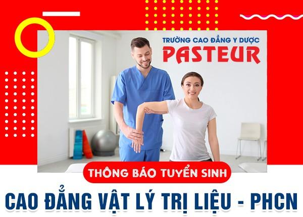 Tuyển sinh Cao đẳng Kỹ thuật Vật lý trị liệu năm 2020