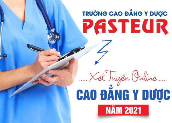 <center><em>Trường Cao đẳng Y Dược Pasteur áp dụng hình thức xét tuyển trực tuyến năm 2021</em></center>