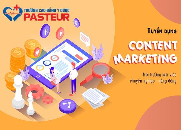 <center><em>Trường Cao đẳng Y Dược Pasteur tuyển dụng Content Marketing </em></center>