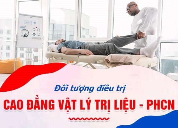 <center><em>Đối tượng điều trị Vật lý trị liệu Phục hồi chức năng là ai?</em></center>